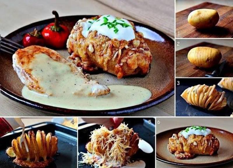 Patate hassemback Le patate hassemback sono un piatto tipico tedesco.