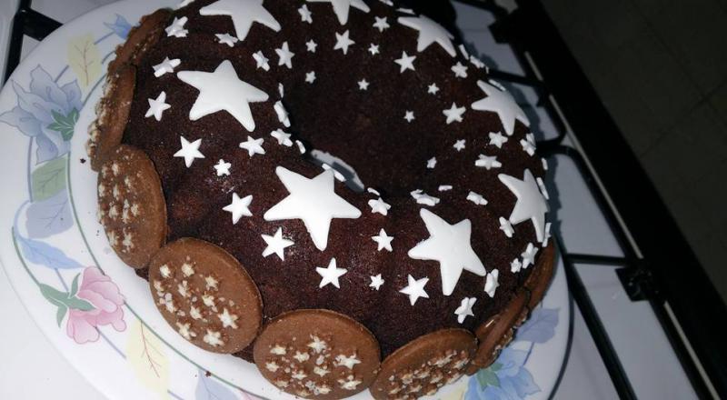 Torta Pan di stelle La torta Pan di Stelle &